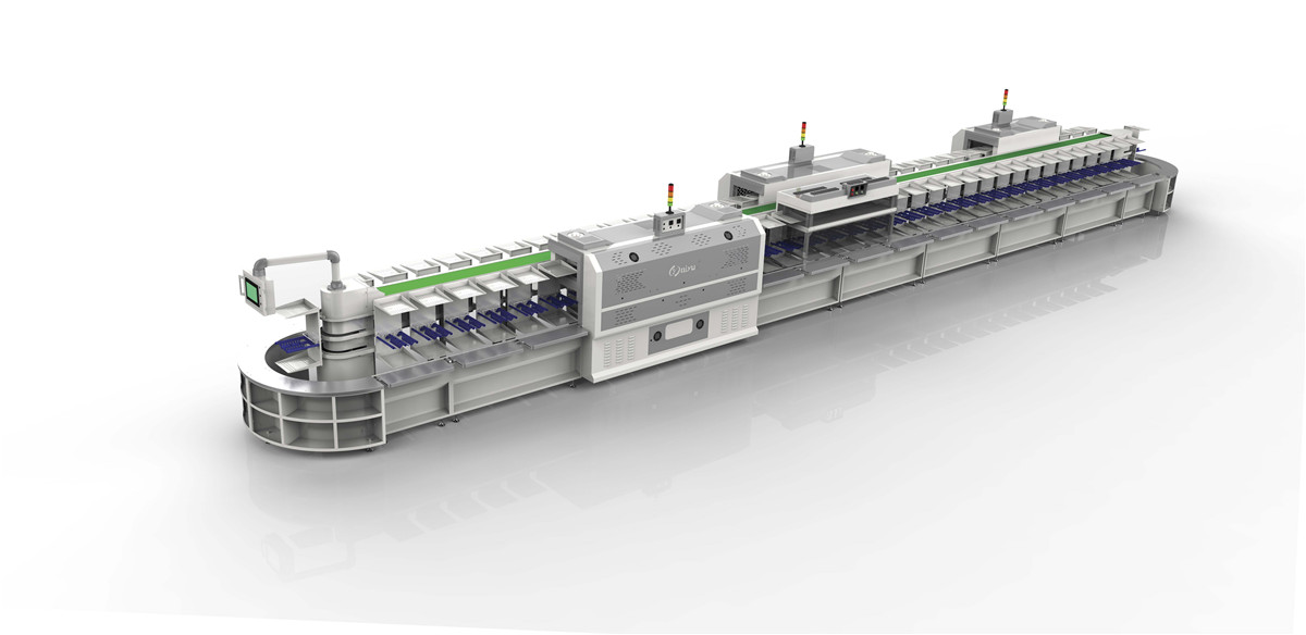 QY-533-M Vertical lean production line ( One-piece models )